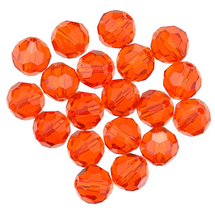 Бусины Астра, цвет: оранжевый (24), диаметр 8 мм, 20 шт. 7702758_247702758_24Набор бусин Астра, изготовленный из стекла круглой формы, позволит вам своими руками создать оригинальные ожерелья, бусы или браслеты. Бусины оснащены рельефными, многогранными поверхностями. Изготовление украшений - занимательное хобби и реализация творческих способностей рукодельницы, это возможность создания неповторимого индивидуального подарка.