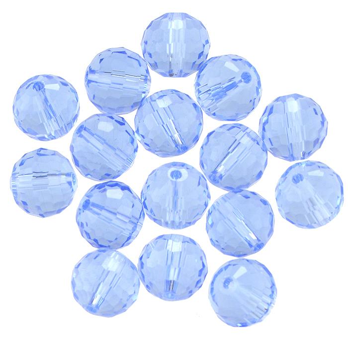 Бусины Астра, цвет: синий (4), диаметр 10 мм, 16 шт. 7702759_47702759_4Набор бусин Астра, изготовленный из стекла круглой формы, позволит вам своими руками создать оригинальные ожерелья, бусы или браслеты. Бусины оснащены рельефными, многогранными поверхностями. Изготовление украшений - занимательное хобби и реализация творческих способностей рукодельницы, это возможность создания неповторимого индивидуального подарка.
