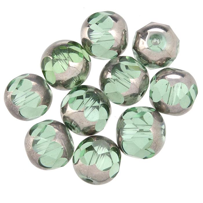 Бусины Астра, цвет: светло-зеленый (10), диаметр 10 мм, 10 шт. 7702763_107702763_10Набор бусин Астра, изготовленный из стекла, позволит вам своими руками создать оригинальные ожерелья, бусы или браслеты. Двухцветные круглые бусины оригинального и яркого дизайна оснащены рельефными, многогранными поверхностями. Изготовление украшений - занимательное хобби и реализация творческих способностей рукодельницы, это возможность создания неповторимого индивидуального подарка.