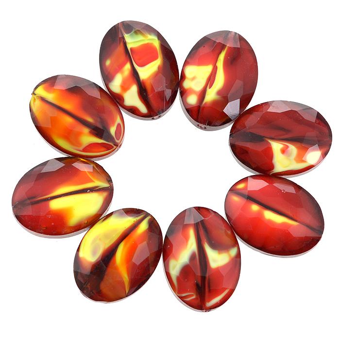 Бусины Астра, цвет: темно-красный (10), 13 мм х 10 мм, 8 шт. 7702765_107702765_10Набор бусин Астра, изготовленный из стекла, позволит вам своими руками создать оригинальные ожерелья, бусы или браслеты. Разноцветные бусины оригинального и яркого дизайна выполнены в виде овалов. Изготовление украшений - занимательное хобби и реализация творческих способностей рукодельницы, это возможность создания неповторимого индивидуального подарка.