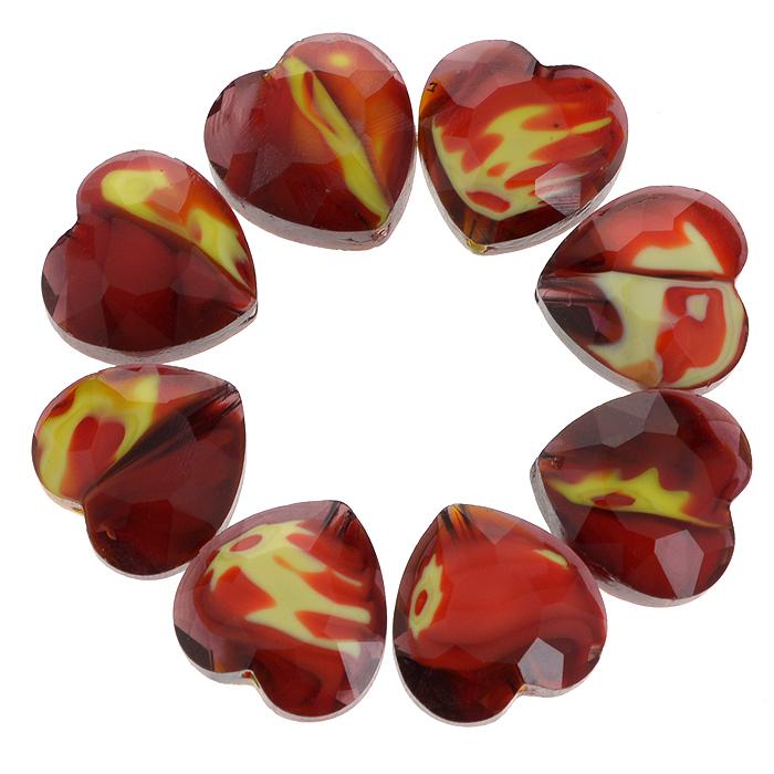 Бусины Астра, цвет: темно-красный (10), 14 мм х 14 мм, 8 шт. 7702764_107702764_10Набор бусин Астра, изготовленный из стекла, позволит вам своими руками создать оригинальные ожерелья, бусы или браслеты. Разноцветные бусины оригинального и яркого дизайна выполнены в виде сердец. Изготовление украшений - занимательное хобби и реализация творческих способностей рукодельницы, это возможность создания неповторимого индивидуального подарка.