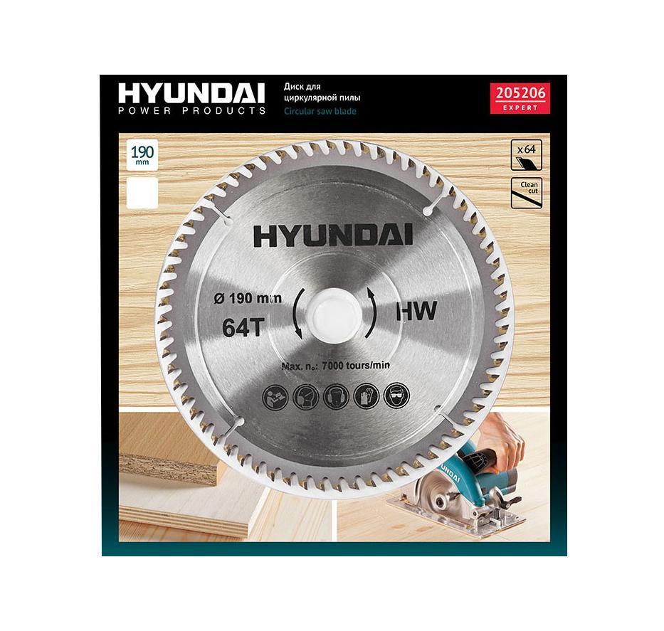Hyundai диск для циркулярных пил по ламинату, 190 ммChef One SFC.919 SS White
