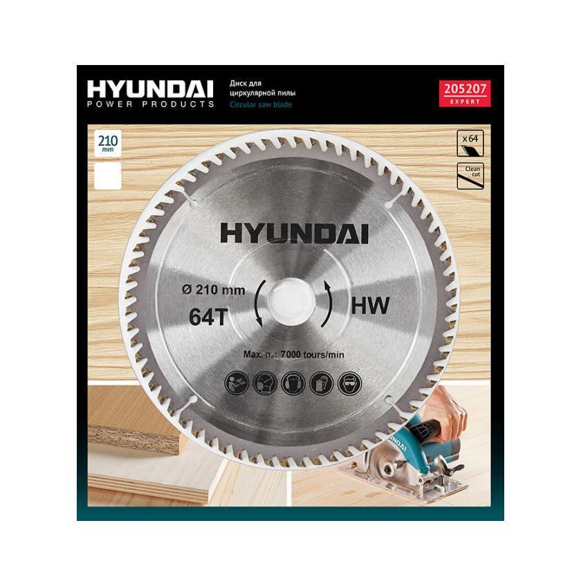 Hyundai диск для циркулярных пил по ламинату, 210 мм205207