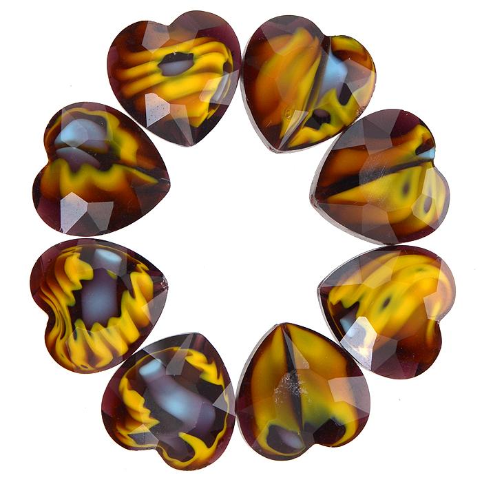Бусины Астра, цвет: коричневый (11), 14 мм х 14 мм, 8 шт. 7702764_117702764_11Набор бусин Астра, изготовленный из стекла, позволит вам своими руками создать оригинальные ожерелья, бусы или браслеты. Разноцветные бусины оригинального и яркого дизайна выполнены в виде сердец. Изготовление украшений - занимательное хобби и реализация творческих способностей рукодельницы, это возможность создания неповторимого индивидуального подарка.