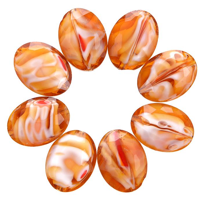 Бусины Астра, цвет: золотистый (8), 13 мм х 10 мм, 8 шт. 7702765_87702765_8Набор бусин Астра, изготовленный из стекла, позволит вам своими руками создать оригинальные ожерелья, бусы или браслеты. Разноцветные бусины оригинального и яркого дизайна выполнены в виде овалов. Изготовление украшений - занимательное хобби и реализация творческих способностей рукодельницы, это возможность создания неповторимого индивидуального подарка.