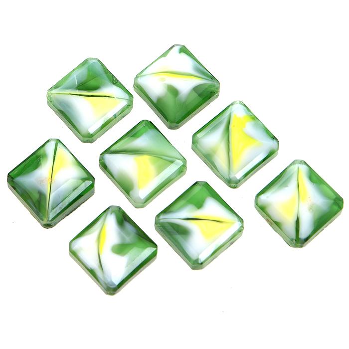 Бусины Астра, цвет: зеленый (9), 13 мм х 6 мм, 8 шт. 7702766_97702766_9Набор бусин Астра, изготовленный из стекла, позволит вам своими руками создать оригинальные ожерелья, бусы или браслеты. Бусины украшены красивыми узорами и выполнены в квадратной форме. Изготовление украшений - занимательное хобби и реализация творческих способностей рукодельницы, это возможность создания неповторимого индивидуального подарка.