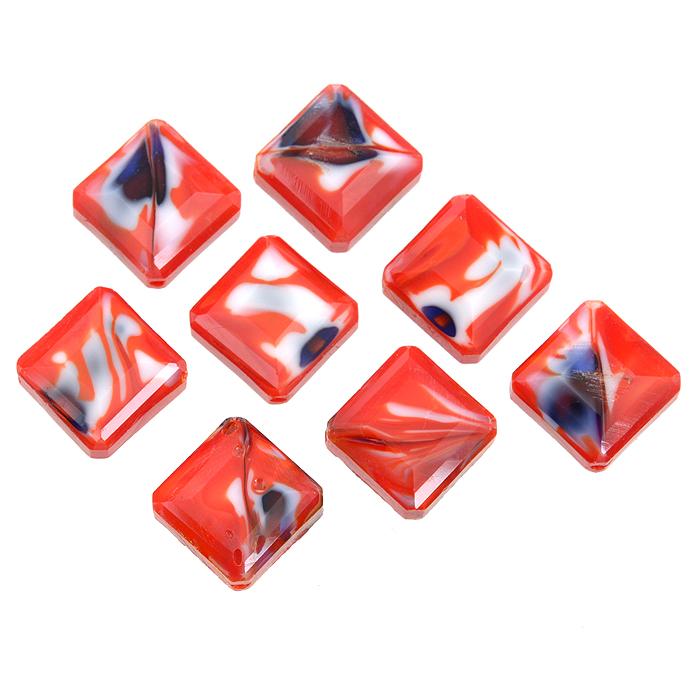 Бусины Астра, цвет: красный (4), 13 мм х 6 мм, 8 шт. 7702766_47702766_4Набор бусин Астра, изготовленный из стекла, позволит вам своими руками создать оригинальные ожерелья, бусы или браслеты. Бусины украшены красивыми узорами и выполнены в квадратной форме. Изготовление украшений - занимательное хобби и реализация творческих способностей рукодельницы, это возможность создания неповторимого индивидуального подарка.