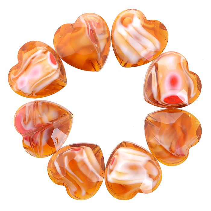 Бусины Астра, цвет: золотистый (8), 14 мм х 14 мм, 8 шт. 7702764_87702764_8Набор бусин Астра, изготовленный из стекла, позволит вам своими руками создать оригинальные ожерелья, бусы или браслеты. Разноцветные бусины оригинального и яркого дизайна выполнены в виде сердец. Изготовление украшений - занимательное хобби и реализация творческих способностей рукодельницы, это возможность создания неповторимого индивидуального подарка.