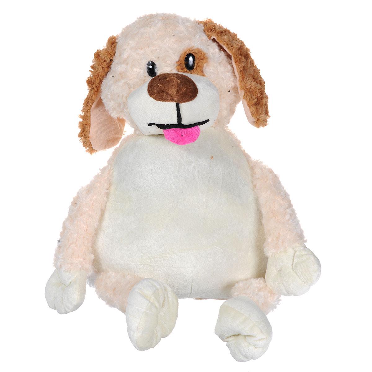 Мягкая игрушка-подушка Bradex Собачка, цвет: бежевый, коричневыйDE 0036Очаровательная мягкая игрушка-подушка Bradex Собачка не оставит равнодушным ни ребенка, ни взрослого. Приятная на ощупь игрушка выполнена из гипоаллергенного материала в виде милой собачки с пластиковыми глазками. Уникальная конструкция мягкой игрушки позволяет в считанные минуты трансформировать ее из игрушки в подушку в виде собачьей конуры. Достаточно всего лишь расстегнуть застежку-молнию, вывернуть игрушку и застегнуть обратно. Такая игрушка-подушка прекрасно дополнит интерьер детской комнаты. Возьмите эту уникальную игрушку с собой в дорогу и подарите вашему ребенку не только увлекательное времяпрепровождение с ней, но и здоровый сон.