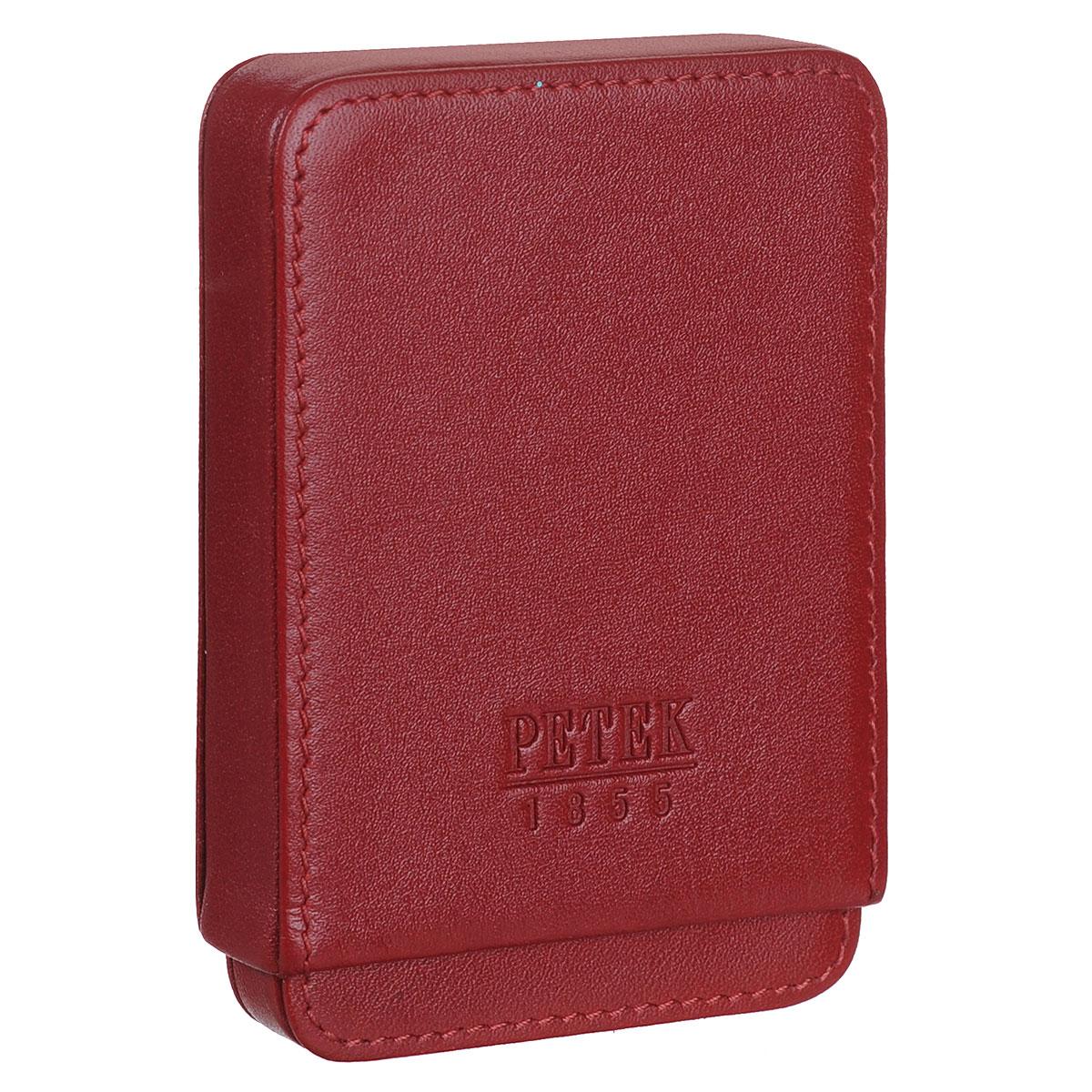 Визитница Petek, цвет: красный. 616.4000.10616.4000.10 RedКомпактная визитница Petek выполнена из высококачественной натуральной кожи с гладкой поверхностью. Визитница представляет собой футляр. Изделие упаковано в коробку с логотипом брэнда. Сдержанность, продуманный дизайн, прекрасная подача стильных атрибутов образа не оставит вас равнодушным.