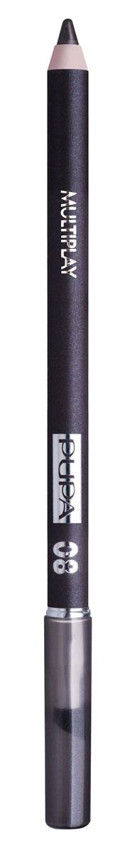 PUPA Карандаш для век с аппликатором Multiplay Eye Pencil, тон 08 светлый коричневый , 1.2 г244008Pupa Multiplay - карандаш для глаз 3 в 1. Сочетает в себе эффект карандаша для глаз для интенсивного цвета, эффект подводки и эффект теней для век. В состав карандаша входит масло жожоба, витамин Е и масло семени хлопчатника для защитного и успокоительного эффекта. Исключительная кремообразная текстура и латексный аппликатор обеспечивают легкое и безупречное нанесение.