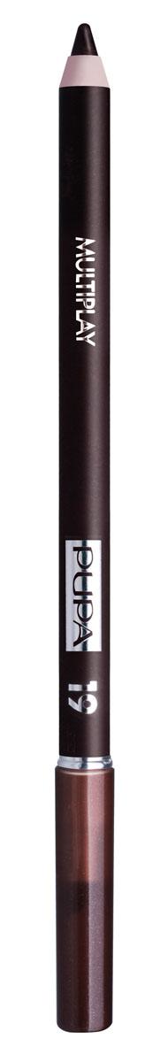 PUPA Карандаш для век с аппликатором Multiplay Eye Pencil, тон 19 тёмно-земляной , 1.2 г244019Pupa Multiplay - карандаш для глаз 3 в 1. Сочетает в себе эффект карандаша для глаз для интенсивного цвета, эффект подводки и эффект теней для век. В состав карандаша входит масло жожоба, витамин Е и масло семени хлопчатника для защитного и успокоительного эффекта. Исключительная кремообразная текстура и латексный аппликатор обеспечивают легкое и безупречное нанесение. Характеристики: Вес: 1,2 г. Тон: №19. Производитель: Италия. Артикул: 244019. Товар сертифицирован. Pupa - итальянский бренд, принадлежащий компании Micys. Компания была основана в 1970-х годах в Милане и стала любимым детищем семьи Гатти. Pupa - это декоративная косметика для тех, кто готов экспериментировать, создавать новые образы и менять свой стиль в поисках новых проявлений своей индивидуальности. Яркие цвета Pupa воплощают в себе особенное видение красоты как многогранного сочетания чувственности и...