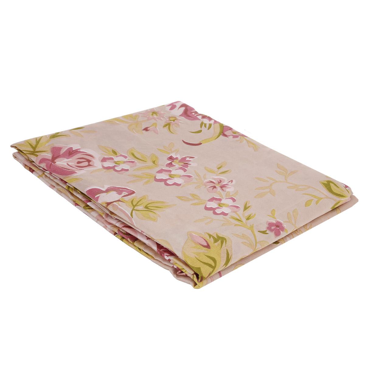Комплект штор Ноты счастья, на петлях, цвет: розовый, зеленый, высота 220 смШпнс-140-220-2Роскошный комплект штор Ноты счастья, выполненный из текстиля, великолепно украсит любое окно. Комплект состоит из двух штор. Шторы выполнены из непрозрачной ткани средней плотности и декорированы изящным цветочным рисунком. Оригинальный дизайн и нежная цветовая гамма привлекут к себе внимание и органично впишутся в интерьер комнаты. Все предметы комплекта - на петлях.