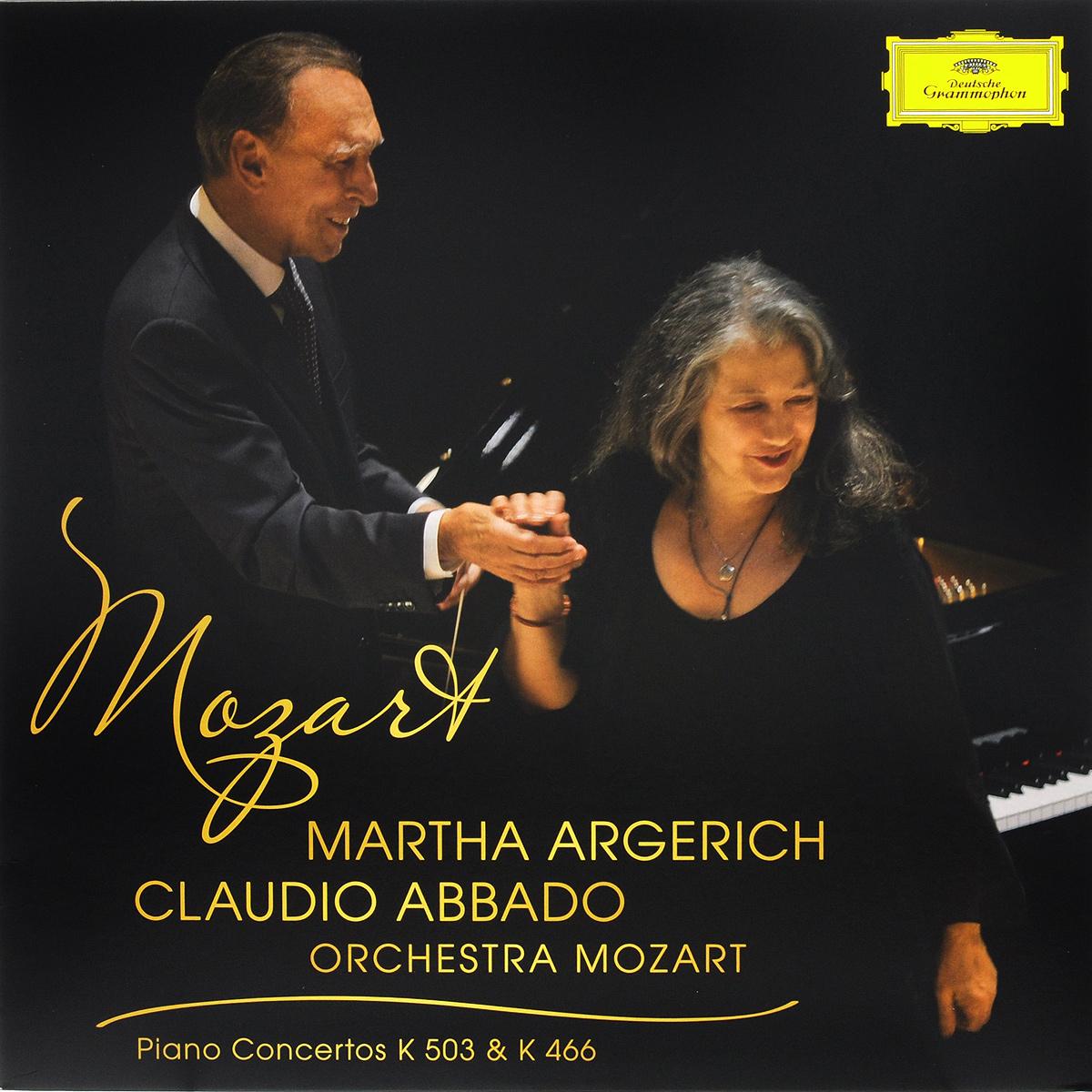 Mozart. Piano Concertos K 503 & K 446. Martha Argerich / Orchestra Mozart / Claudio Abbado (LP)