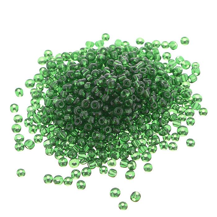 Бисер Астра, прозрачный, цвет: зеленый (7B), размер 11/0, 20 г. 675288_7B675288_7BБисер Астра, изготовленный из пластика круглой формы, позволит вам своими руками создать оригинальные ожерелья, бусы или браслеты, а также заняться вышиванием. В бисероплетении часто используют бисер разных размеров и цветов. Он идеально подойдет для вышивания на предметах быта и женской одежде. Размер бисера: 11/0. Вес пакетика: 20 г. Изготовление украшений - занимательное хобби и реализация творческих способностей рукодельницы, это возможность создания неповторимого индивидуального подарка.