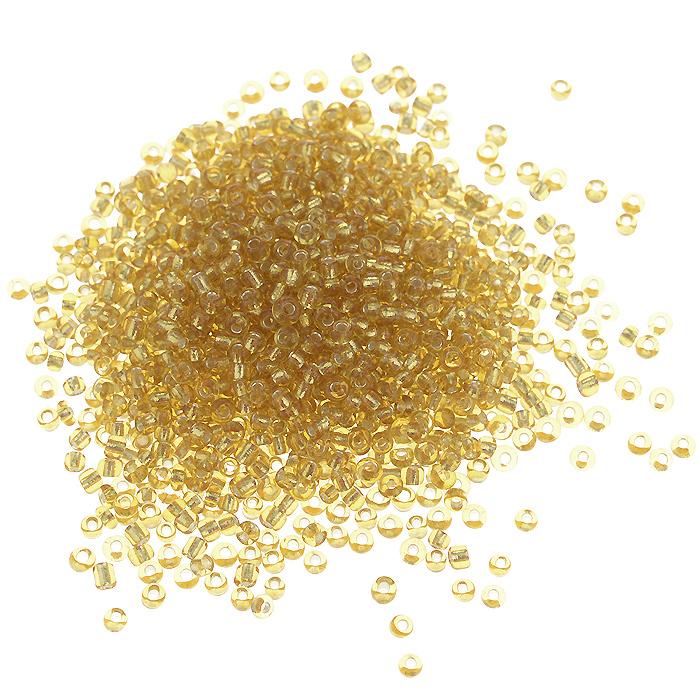 Бисер Астра, с серебряным центром, цвет: золотистый (22Т), размер 11/0, 20 г. 675288_22Т675288_22ТБисер Астра, изготовленный из пластика круглой формы, позволит вам своими руками создать оригинальные ожерелья, бусы или браслеты, а также заняться вышиванием. В бисероплетении часто используют бисер разных размеров и цветов. Он идеально подойдет для вышивания на предметах быта и женской одежде. Размер бисера: 11/0. Вес пакетика: 20 г. Изготовление украшений - занимательное хобби и реализация творческих способностей рукодельницы, это возможность создания неповторимого индивидуального подарка.