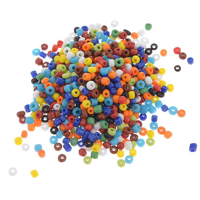 Бисер Астра, непрозрачный, цвет: мультиколор (51), размер 8/0, 20 г. 7701073_517701073_51Непрозрачный бисер Астра, изготовленный из пластика круглой формы, позволит вам своими руками создать оригинальные ожерелья, бусы или браслеты, а также заняться вышиванием. В бисероплетении часто используют бисер разных размеров и цветов. Он идеально подойдет для вышивания на предметах быта и женской одежде. Размер бисера: 8/0. Вес пакетика: 20 г. Изготовление украшений - занимательное хобби и реализация творческих способностей рукодельницы, это возможность создания неповторимого индивидуального подарка.