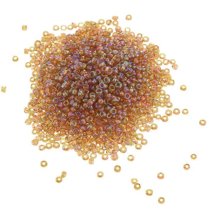 Бисер Астра, прозрачный, цвет: медный (162С), размер 11/0, 20 г. 675288_162С675288_162С медный/прозр.радужныйБисер Астра, изготовленный из пластика круглой формы, позволит вам своими руками создать оригинальные ожерелья, бусы или браслеты, а также заняться вышиванием. В бисероплетении часто используют бисер разных размеров и цветов. Он идеально подойдет для вышивания на предметах быта и женской одежде. Размер бисера: 11/0. Вес пакетика: 20 г. Изготовление украшений - занимательное хобби и реализация творческих способностей рукодельницы, это возможность создания неповторимого индивидуального подарка.