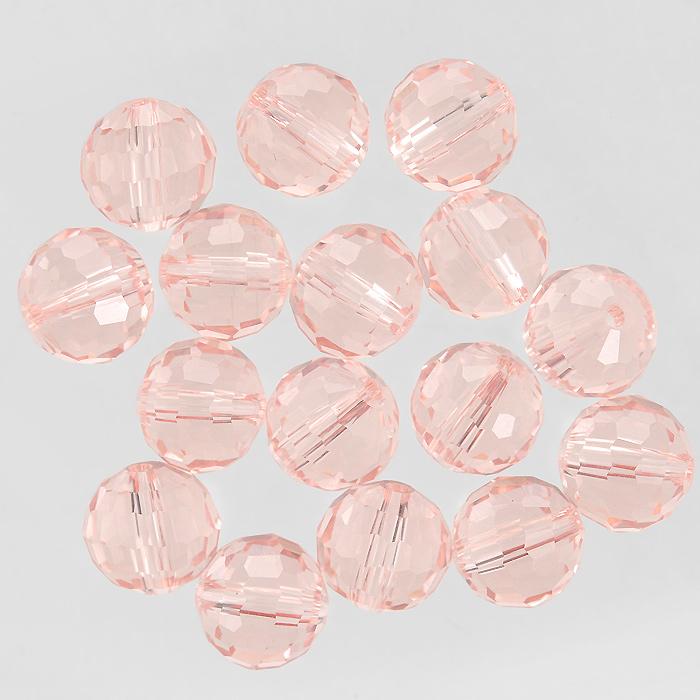 Бусины Астра, цвет: розовый (33), диаметр 10 мм, 16 шт. 7702759_337702759_33Набор бусин Астра, изготовленный из стекла круглой формы, позволит вам своими руками создать оригинальные ожерелья, бусы или браслеты. Бусины оснащены рельефными, многогранными поверхностями. Изготовление украшений - занимательное хобби и реализация творческих способностей рукодельницы, это возможность создания неповторимого индивидуального подарка.
