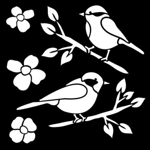 Трафарет FolkArt Птицы, 15 см х 15 смPLD-30607Трафарет FolkArt Птицы изготовлен из пластика. На одном листе расположены 5 трафаретов в виде цветов и птиц на ветках. Трафарет - это возможность создать профессиональный декор своими руками без художественных талантов, профессиональных навыков или привлечения специалистов. Трафаретная роспись доступна каждому, экономит ваши средства и дарит много положительных эмоций. Что бы вы ни затеяли: косметический ремонт своими силами или большой проект по декору целого дома, трафареты вам обязательно пригодятся. Добавьте оригинальность вашему интерьеру с помощью трафаретов. Оригинальное исполнение внесет изысканность в дизайн.