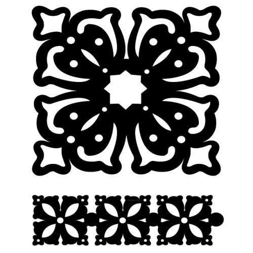 Набор трафаретов FolkArt Античность, 2 штPLD-30600Набор FolkArt Античность, изготовленный из пластика, состоит из двух трафаретов. Изделия выполнены в форме квадратов, декорированных оригинальными узорами. Трафарет - это возможность создать профессиональный декор своими руками без художественных талантов, профессиональных навыков или привлечения специалистов. Трафаретная роспись доступна каждому, экономит ваши средства и дарит много положительных эмоций. Что бы вы ни затеяли: косметический ремонт своими силами или большой проект по декору целого дома, трафареты вам обязательно пригодятся. Добавьте оригинальность вашему интерьеру с помощью трафаретов. Оригинальное исполнение внесет изысканность в дизайн.