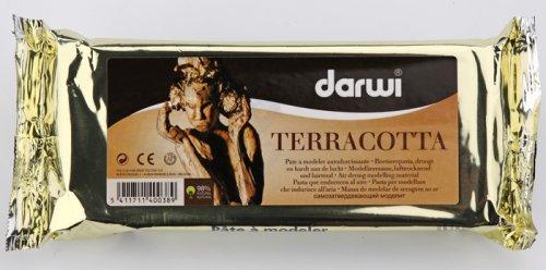 Паста для моделирования Darwi Terracota, цвет: кирпично-красный, 250 г692531Самозатвердевающая паста для моделирования Darwi Terracota - удачный компромисс между традиционной глиной, замешивание которой требует особых навыков и терпения, и пластикой - слишком твердой для детских ладоней и непременно нуждающейся в обжиге. Такая масса обладает мягкой, пастообразной консистенцией. Во избежание оставления отпечатков ладоней, работать с массой рекомендуют мокрыми руками. Изделия из такой пасты достаточно быстро обретают желаемую прочность на воздухе. Время отверждения минимум 24 часа. Легкое прилипание к деревянным, стеклянным и керамическим поверхностям позволяет использовать массу для декорирования предметов. Готовые изделия из самозатвердевающих масс можно окрашивать, шкурить и покрывать лаком. Транспортировка и хранение только при положительной температуре. Для детей от 3 лет.