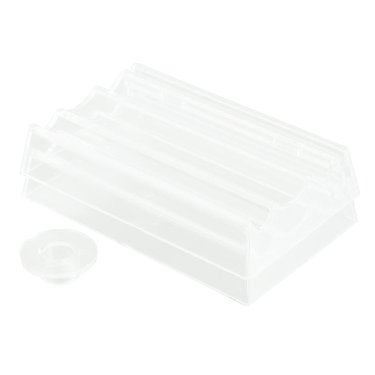 Инструмент для изготовления бусин Cernit7704709Инструмент для изготовления бусин Cernit выполнен из прозрачного пластика и предназначен для формирования идеально ровных круглых, овальных или конических бусин. В комплекте кольцо для дозировки пластика. Разместите пластику в ролике в соответствующей ячейке и несколько раз прокатайте вперед-назад. Бусина сформирована и готова к запеканию!