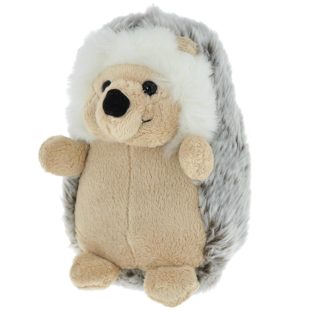 Мягкая игрушка Gulliver Ежик, цвет: бежевый, светло-коричневый, белый, 15 см21-924111бежОчаровательная мягкая игрушка Gulliver Ежик, выполненная в виде забавного маленького ежонка, вызовет умиление и улыбку у каждого, кто ее увидит. Она станет замечательным подарком, как ребенку, так и взрослому. Удивительно мягкая игрушка принесет радость и подарит своему обладателю мгновения нежных объятий и приятных воспоминаний. Специальные гранулы, используемые при ее набивке, способствуют развитию мелкой моторики рук малыша. Великолепное качество исполнения делают эту игрушку чудесным подарком к любому празднику.
