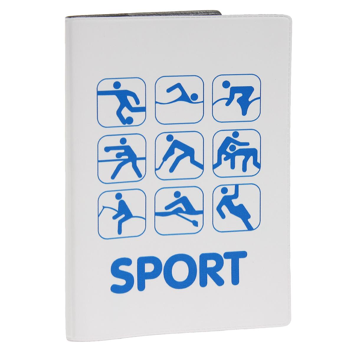 Обложка для автодокументов Sport. AUTOZAM286AUTOZAM286Обложка для автодокументов Mitya Veselkov Sport изготовлена из прочного ПВХ белого цвета и оформлена изображениями значков, каждый из которых олицетворяет один из видов спорта. На внутреннем развороте имеются съемный блок из шести прозрачных файлов из мягкого пластика для водительских документов, один из которых формата А5, а также два боковых кармашка для визиток или банковских карт. Стильная обложка не только поможет сохранить внешний вид ваших документов и защитит их от грязи и пыли, но и станет аксессуаром, который подчеркнет вашу яркую индивидуальность.