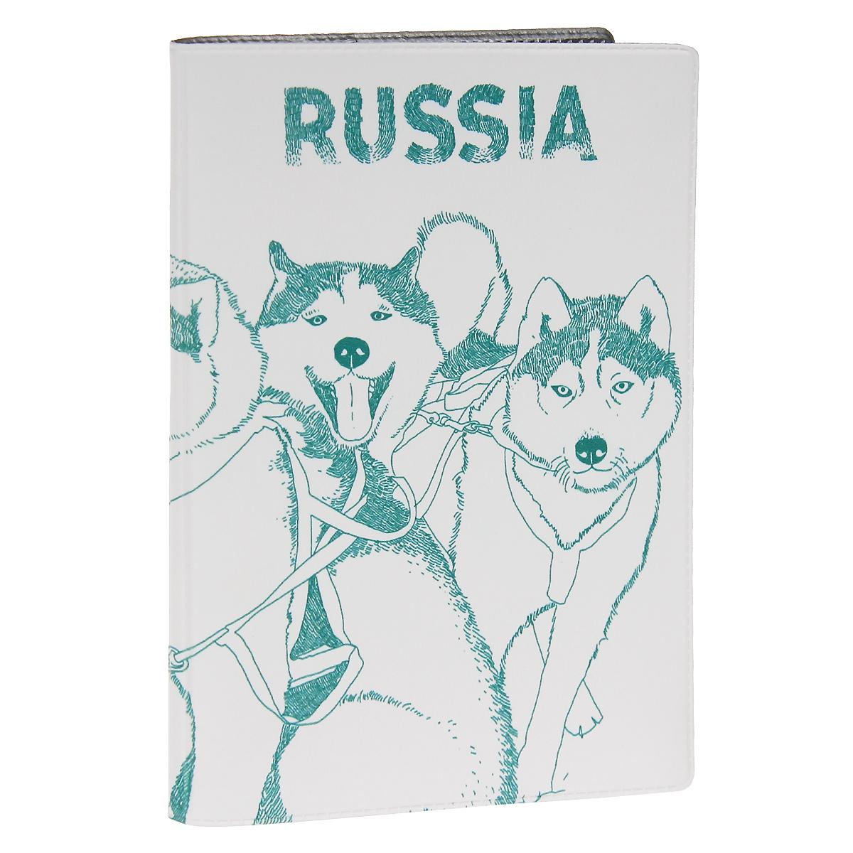 Обложка для паспорта Сибирские хаски. OZAM296OZAM296Обложка для паспорта Mitya Veselkov Хаски выполнена из прочного ПВХ и оформлена изображением нескольких собак породы хаски. Такая обложка не только поможет сохранить внешний вид ваших документов и защитит их от повреждений, но и станет стильным аксессуаром, идеально подходящим вашему образу. Яркая и оригинальная обложка подчеркнет вашу индивидуальность и изысканный вкус. Обложка для паспорта стильного дизайна может быть достойным и оригинальным подарком.