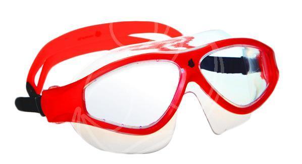 Маска для плавания MadWave Flame Mask, цвет: красныйM0461 02 0 05WМаска для водных видов спорта с автоматической системой регулировки ремешков на корпусе. Закрывает чувствительную зону вокруг глаз. Улучшенная антизапотевающая защита стекла благодаря внедрению антифога капиллярным способом. Защита от ультрофиолетовых лучей UV 400. Целлюлозополимерные линзы. Вид переносицы — моноблок. Рамка — полипропилен, обтюратор — термопластичная резина. Силиконовый ремешок. Комплектация: Маска. Чехол. Характеристики: Материал: силикон, поликарбонат, резина. Размер маски: 17,5 см х 6,5 см. Цвет: красный. Размер упаковки: 20 см х 8 см х 6 см. Артикул: M0461 02 0 05W.
