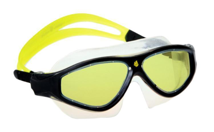 Маска для плавания MadWave Flame Mask, цвет: желтый, черныйM0461 02 0 06WМаска для водных видов спорта с автоматической системой регулировки ремешков на корпусе. Закрывает чувствительную зону вокруг глаз. Улучшенная антизапотевающая защита стекла благодаря внедрению антифога капиллярным способом. Защита от ультрофиолетовых лучей UV 400. Целлюлозополимерные линзы. Вид переносицы — моноблок. Рамка — полипропилен, обтюратор — термопластичная резина. Силиконовый ремешок. Комплектация: Маска. Чехол.
