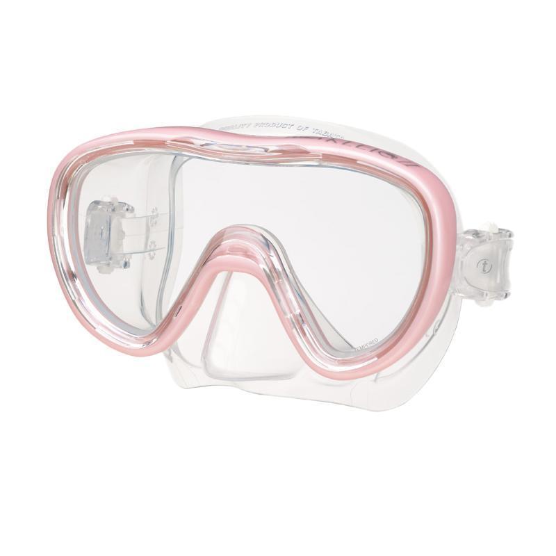 """Маска для плавания Tusa """"Kleio II"""", цвет: розовый"""