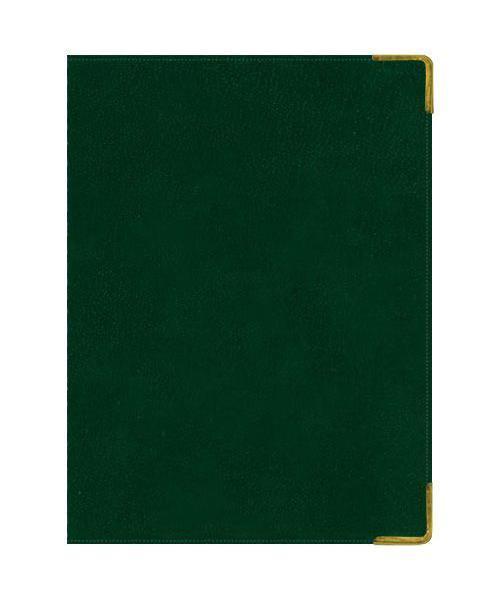Ежедневник А5 Полудатированный Ancient (темно-зеленый) 192л. (BUSINESS PRESTIGE) Искусственная кожа с поролономЕКП51419204В линейке бизнес-ежедневников представлены датированные, полудатированные и недатированные внутренние блоки на офсетной бумаге плотностью 70гр.м. Коллекция прекрасно подходит в качестве подарка. Обложка обладает возможностью термотиснения. Внутренний блок прошит, что гарантирует отсутствие потери листов при активном использовании. Цветные форзацы подчеркивают высокий статус ежедневника. Металлические скругленные углы защищают эту серию продукции при активном использовании. Особый шарм и статус ежедневникам придает разнообразие отделок поверхностей. Исследование с фокус-группами показало, что качество текстур неотличимо от оригинальных поверхностей. Доступный статус - кредо коллекции Business Prestige! Виды отделки: Ancient (гладкая и мягкая кожа), Iguana, Skin, Gold, Nappa, Croco, Grand croco, Impact. Разметка: . Бумага: . Формат: А5. Пол: Унисекс. Особенности: металлические уголки, цветной торец (золото), бумага тонированная, ляссе 2шт..