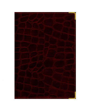 Ежедневник А5 Полудатированный Grand croco (бордо) 192л. (BUSINESS PRESTIGE) Искусственная кожа с поролономЕКП51419207В линейке бизнес-ежедневников представлены датированные, полудатированные и недатированные внутренние блоки на офсетной бумаге плотностью 70гр.м. Коллекция прекрасно подходит в качестве подарка. Обложка обладает возможностью термотиснения. Внутренний блок прошит, что гарантирует отсутствие потери листов при активном использовании. Цветные форзацы подчеркивают высокий статус ежедневника. Металлические скругленные углы защищают эту серию продукции при активном использовании. Особый шарм и статус ежедневникам придает разнообразие отделок поверхностей. Исследование с фокус-группами показало, что качество текстур неотличимо от оригинальных поверхностей. Доступный статус - кредо коллекции Business Prestige! Виды отделки: Ancient (гладкая и мягкая кожа), Iguana, Skin, Gold, Nappa, Croco, Grand croco, Impact.