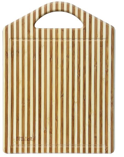 Доска разделочная TalleR с лопаткойTR-2205Разделочная доска с лопаткой Описание: разделочная доска с ручкой 35,5*25,5*1,9 см с лопаткой 12 (30,5 см) Материал: бамбук Рекомендуется мыть вручную