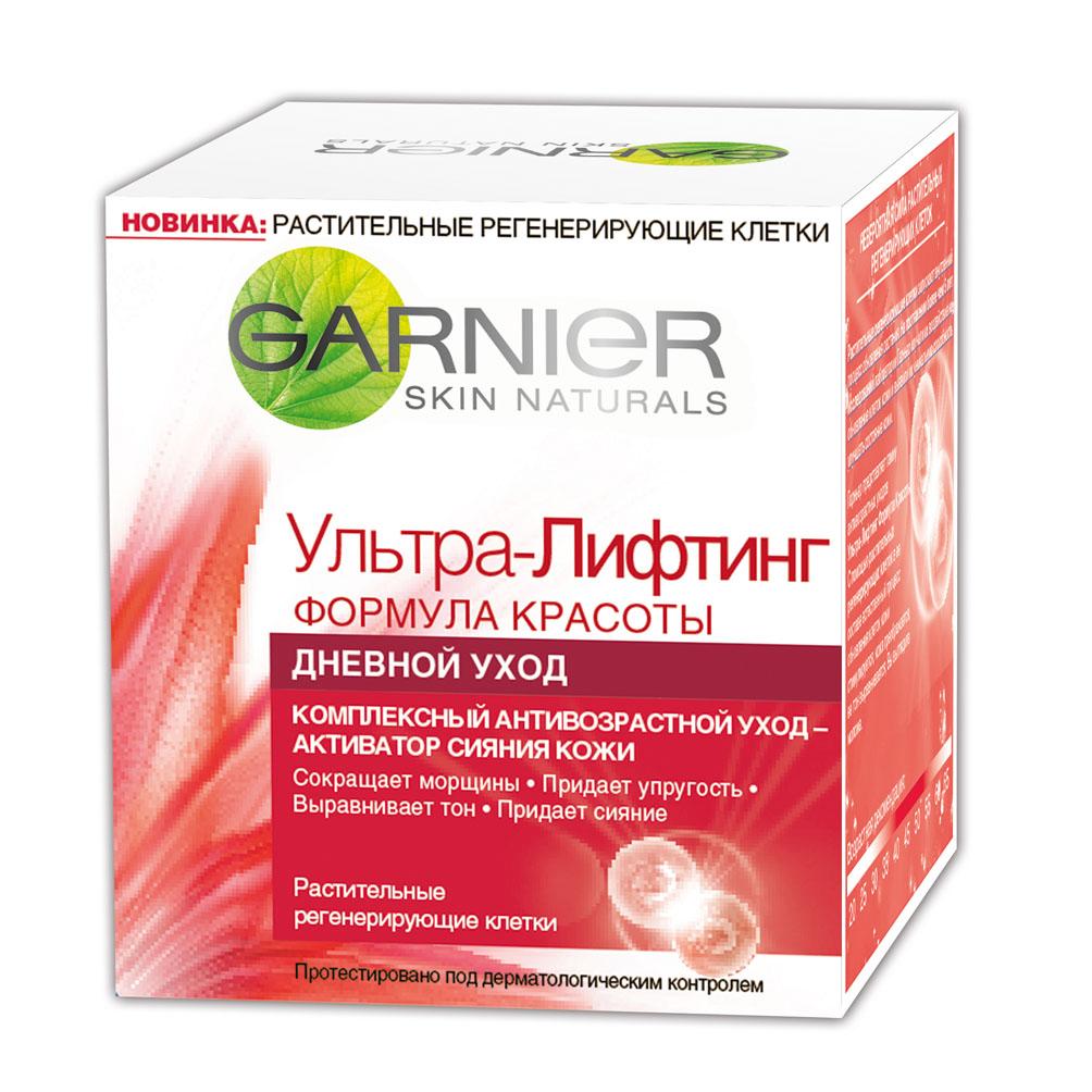 """Garnier Крем для лица """"Ультра-лифтинг, Комплексный антивозрастной дневной уход"""", 50 мл ( C4886301 )"""