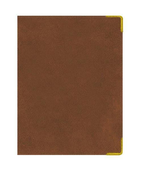 Еженедельник А4 Недатированный Ancient (светло-коричневый) 72л. (BUSSINESS PRESTIGE) Искуственная кожа с поролономЕКП4147206В линейке бизнес-ежедневников представлены датированные, полудатированные и недатированные внутренние блоки на офсетной бумаге плотностью 70гр.м. Коллекция прекрасно подходит в качестве подарка. Обложка обладает возможностью термотиснения. Внутренний блок прошит, что гарантирует отсутствие потери листов при активном использовании. Цветные форзацы подчеркивают высокий статус ежедневника. Металлические скругленные углы защищают эту серию продукции при активном использовании. Особый шарм и статус ежедневникам придает разнообразие отделок поверхностей. Исследование с фокус-группами показало, что качество текстур неотличимо от оригинальных поверхностей. Доступный статус - кредо коллекции Business Prestige! Виды отделки: Ancient (гладкая и мягкая кожа), Iguana, Skin, Gold, Nappa, Croco, Grand croco, Impact. Разметка: . Бумага: офсет. Формат: А4. Пол: Унисекс. Особенности: металлические уголки, цветной торец (золото), справочный материал, ляссе 2шт..