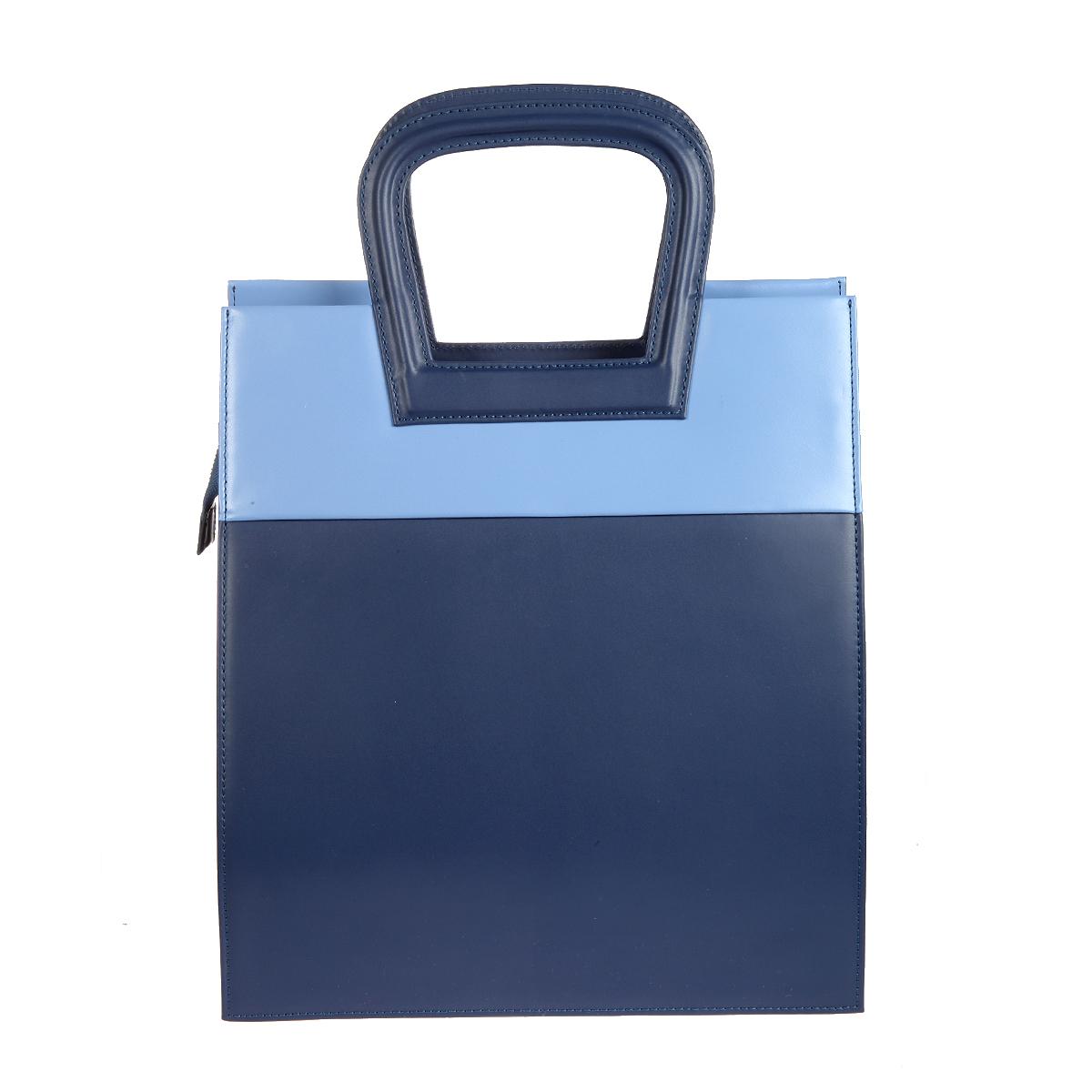 Сумка женская Gianni Conti, цвет: сине-голубой. 843791E843791E blue multiСтильная женская сумка Gianni Conti выполнена из натуральной кожи. Сумка закрывается на застежку-молнию. Внутри состоит из одного большого отделения, а так же накладного кармашка на застежке-молнии и небольших накладных кармашков для мелочей и телефона. Сумка оснащена удобными ручками и съемным плечевым ремнем регулируемой длины. Фурнитура - серебристого цвета. К сумке прилагается фирменная сумка-чехол для хранения. Сумка - это стильный аксессуар, который подчеркнет вашу индивидуальность и сделает ваш образ завершенным.