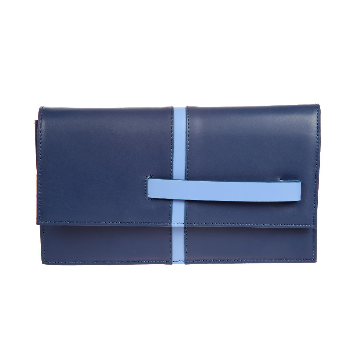 Клатч женский Gianni Conti, цвет: синий, голубой. 843792E843792E blue multiЭлегантный женский клатч Gianni Conti выполнен из высококачественной натуральной кожи. Лицевая сторона оформлена вертикальной полосой и оснащена удобной ручкой, которые исполнены в одном цвете. Клатч закрывается на клапаном на магнитную кнопку. Внутреннее отделение содержит два открытых кармана, держатель для письменных принадлежностей и накладной карман на застежке-молнии. В комплекте с клатчем входят небольшой ремешок на карабинах и тонкий плечевой рмень на кнопках. Изделие упаковано в фирменный чехол. Такой клатч отлично завершит вечерний образ и подчеркнет ваш идеальный вкус. С ним вы не останетесь незамеченной.