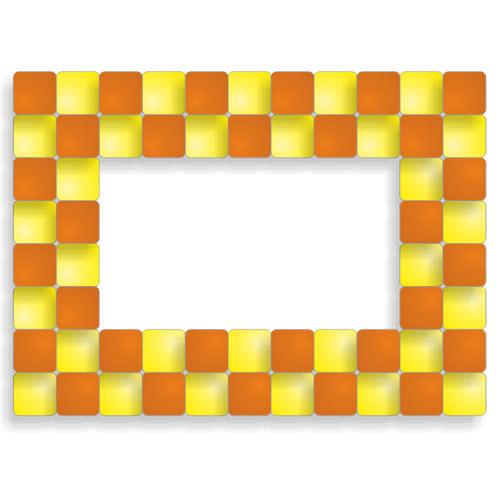 Набор мозаики для декорирования фоторамки