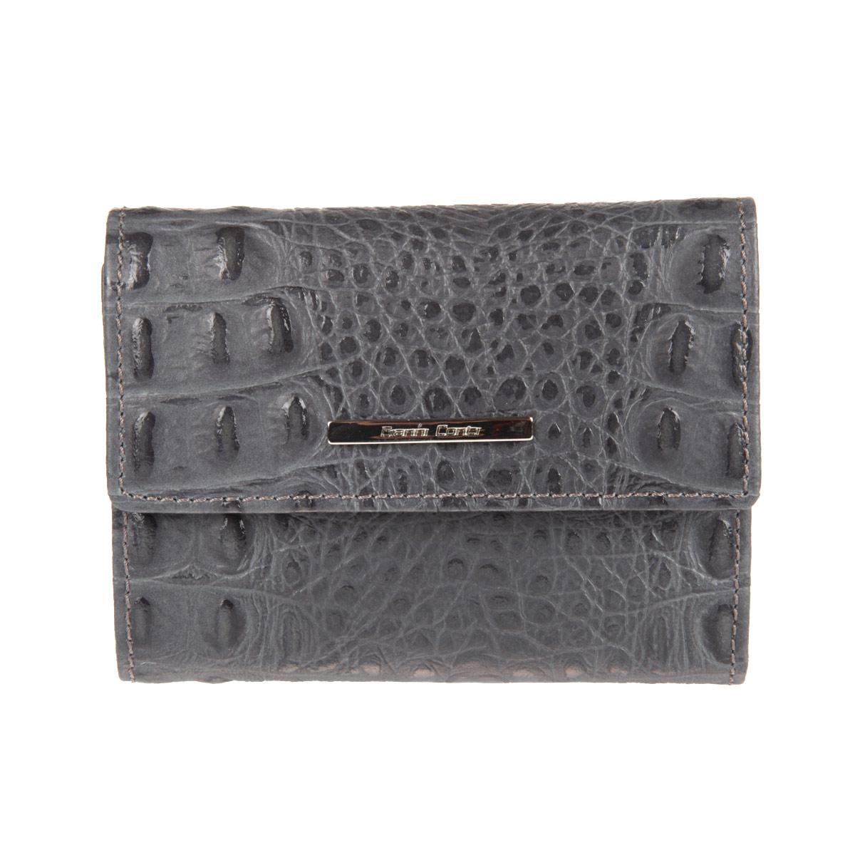 Портмоне Gianni Conti, цвет: серый. 19382531938253 grey/yellowПортмоне Gianni Conti выполнено из высококачественной натуральной кожи и оформлено металлической пластинкой с надписью в виде названия бренда. Портмоне закрывается клапаном на кнопку. Внутри портмоне имеет два отдела для купюр, восемь отделений для пластиковых карт, сетчатый кармашек, пять карманов для документов, кармашек на кнопке для мелочи и один потайной карман. Портмоне упаковано в коробку из плотного картона с логотипом фирмы. Это элегантное портмоне непременно подойдет к вашему образу и порадует утонченным стилем и функциональностью.