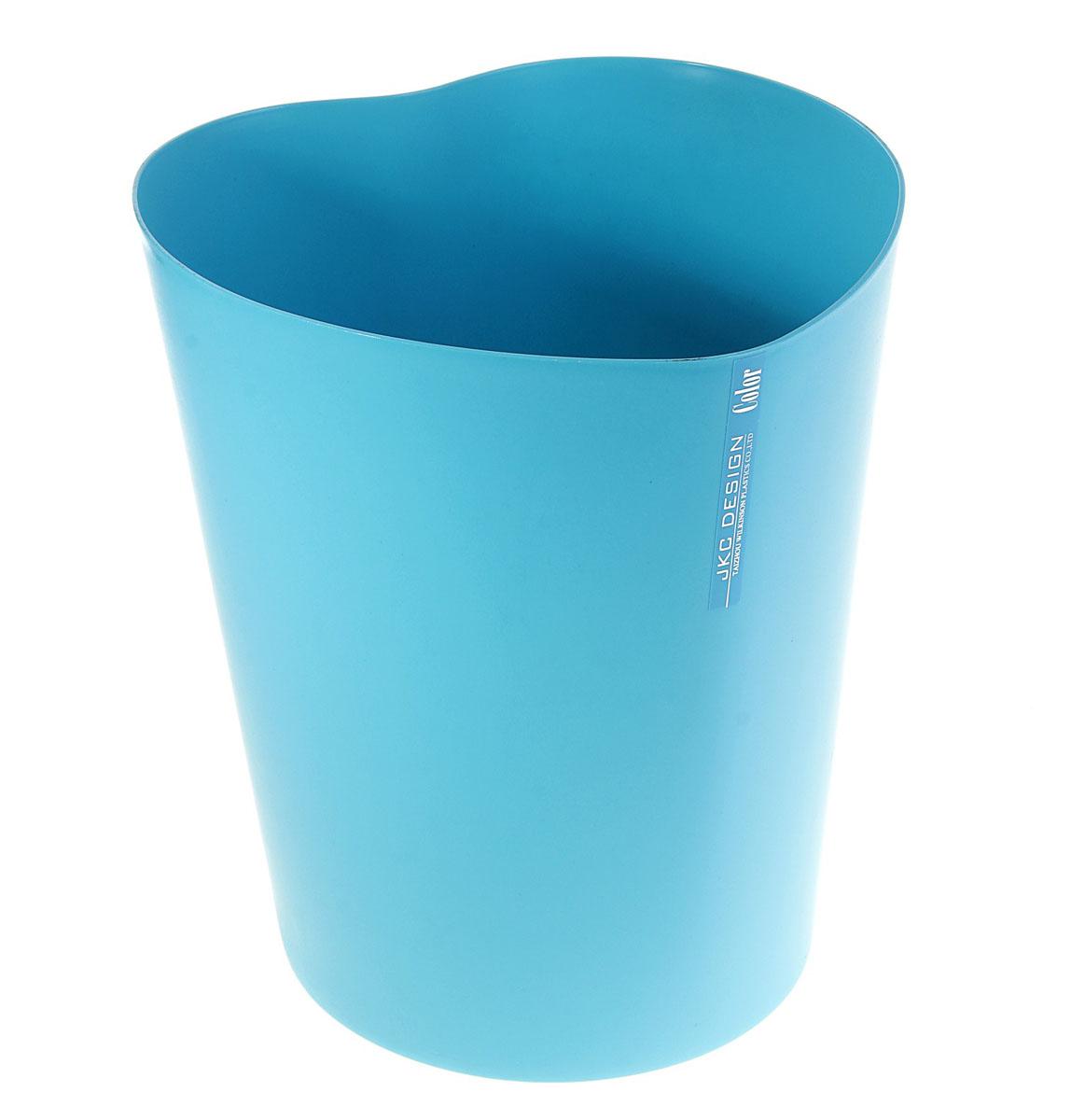 Ведро Sima-land Сердце, цвет: синий, высота 28 см147482Ведро Sima-land Сердце изготовлено из пластика и предназначено для складывания мусора, различных мелких предметов и материалов. Изделие выполнено в форме сердца. Размер ведра: 23 см х 26 см х 28 см. Диаметр дна: 18,5 см.