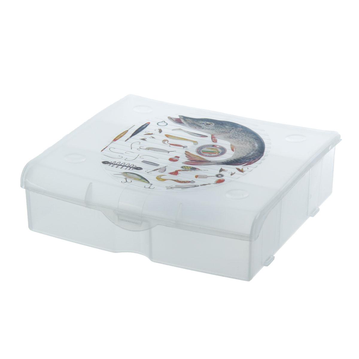 Бокс для хранения 5 ячеек 812930812930Бокс для рыболовных принадлежностей 5 ячеек 812930 Материал: Пластик