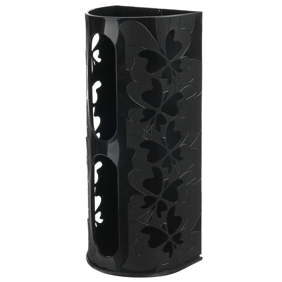 Корзина для пакетов Berossi Fly, цвет: черный868663Корзина для пакетов Berossi Fly, изготовлена из высококачественного пластика. Эта практичная корзина наведет порядок в кладовке или кухонном шкафу и позволит хранить пластиковые пакеты или хозяйственные сумочки во всегда доступном месте! Изделие декорировано резным изображением бабочек. Корзина просто подвешивается на дверь шкафчика изнутри или снаружи, в зависимости от назначения. Корзина для пакетов Berossi Fly будет замечательным подарком для поддержания чистоты и порядка. Она сэкономит место, гармонично впишется в интерьер и будет радовать вас уникальным дизайном. Размер корзины (в собранном виде): 37 х 13 х 16 см.