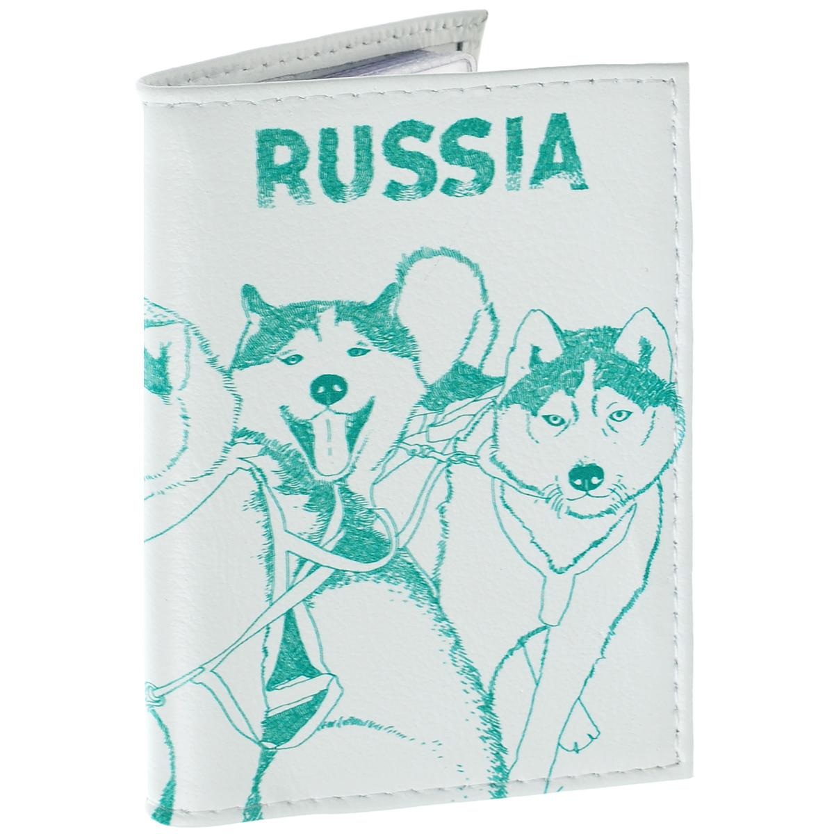 Визитница Сибирские хаски. VIZIT-219VIZIT-219Оригинальная визитница Mitya Veselkov Сибирские хаски прекрасно подойдет для хранения визиток и кредитных карт. Обложка выполнена из натуральной высококачественной кожи и оформлена изображением собачьей упряжки и надписью Russia. Внутри содержится съемный блок из прозрачного мягкого пластика на 18 визиток и 2 прозрачных вертикальных кармана. Стильная визитница подчеркнет вашу индивидуальность и изысканный вкус, а также станет замечательным подарком человеку, ценящему качественные и практичные вещи.