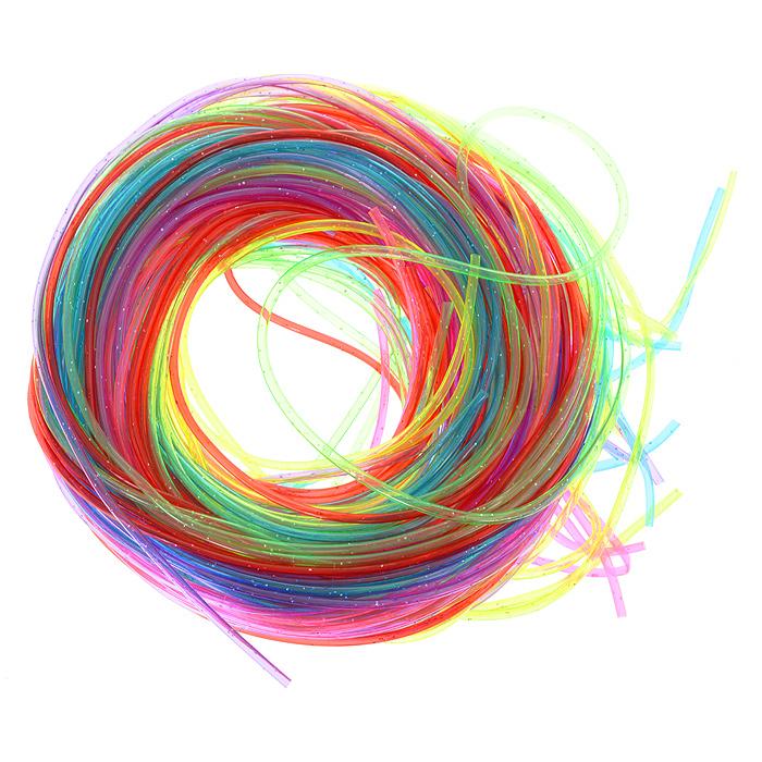 Трубочки для плетения Астра, 1,5 мм х 1 м, 25 шт. 77048877704887Набор Астра, изготовленный из силикона, состоит из 25 разноцветных трубочек с блестками для плетения. Набор позволит вам своими руками создать свои собственные шедевры. Из трубочек можно с легкостью изготовить браслеты, брелоки, ожерелья и множество других вещей. Изготовление украшений - занимательное хобби и реализация творческих способностей рукодельницы, это возможность создания неповторимого индивидуального подарка.