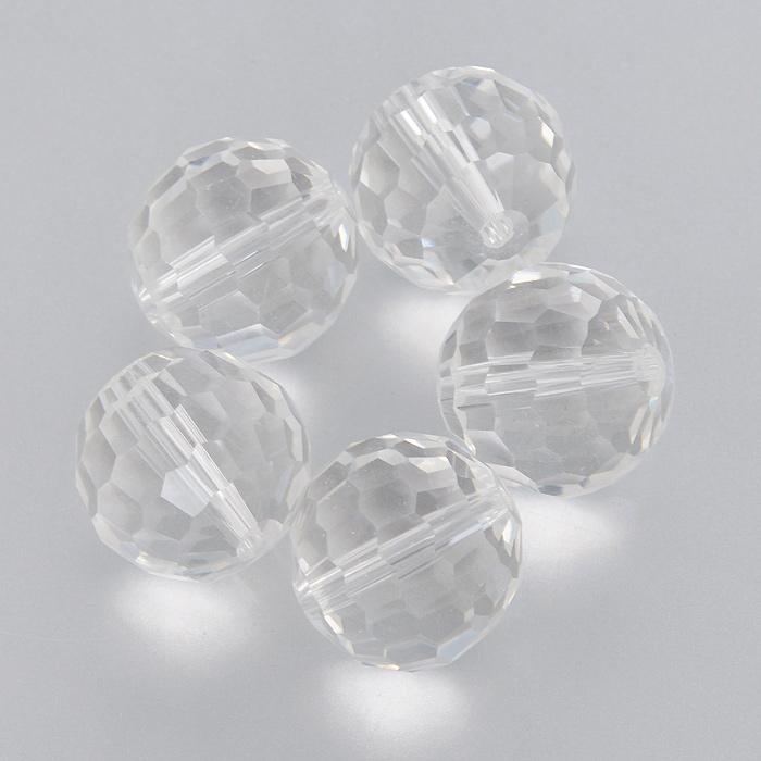 Бусины Астра, цвет: прозрачный (1), диаметр 15 мм, 5 шт. 7705646_17705646_1Набор бусин Астра, изготовленный из стекла, позволит вам своими руками создать оригинальные ожерелья, бусы или браслеты. Бусины выполнены круглой формы с рельефными, многогранными поверхностями. Изготовление украшений - занимательное хобби и реализация творческих способностей рукодельницы, это возможность создания неповторимого индивидуального подарка.