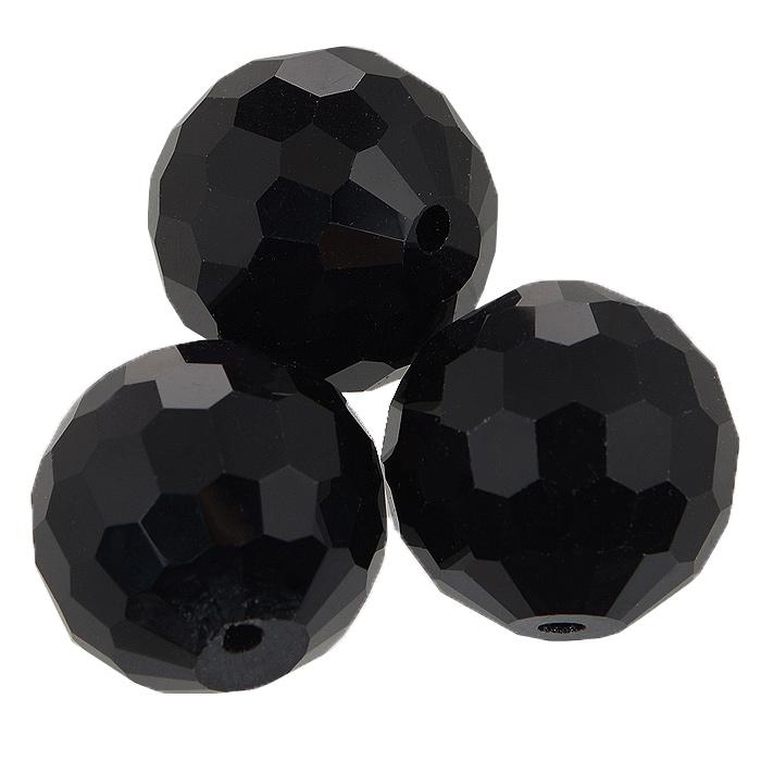 Бусины Астра, цвет: черный (2), диаметр 20 мм, 3 шт. 7705647_27705647_2Набор бусин Астра, изготовленный из стекла, позволит вам своими руками создать оригинальные ожерелья, бусы или браслеты. Бусины выполнены круглой формы с рельефными, многогранными поверхностями. Изготовление украшений - занимательное хобби и реализация творческих способностей рукодельницы, это возможность создания неповторимого индивидуального подарка.
