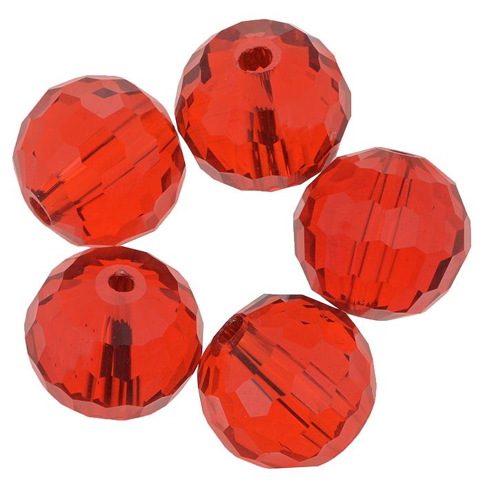 Бусины Астра, цвет: красный (28), диаметр 15 мм, 5 шт. 7705646_287705646_28Набор бусин Астра, изготовленный из стекла, позволит вам своими руками создать оригинальные ожерелья, бусы или браслеты. Бусины выполнены круглой формы с рельефными, многогранными поверхностями. Изготовление украшений - занимательное хобби и реализация творческих способностей рукодельницы, это возможность создания неповторимого индивидуального подарка.